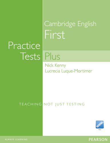 9781405881241: Practice Tests Plus FCE New Edition Students Book without Key/CD-Rom Pack