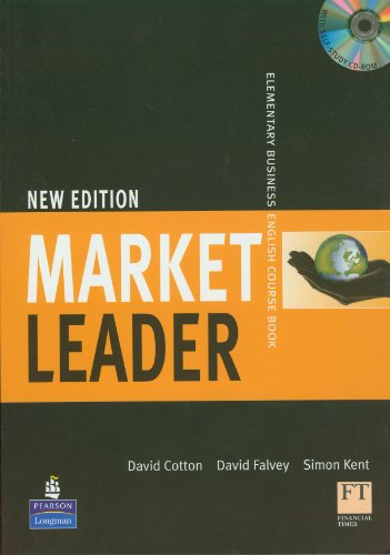 9781405881326: Market Leader 1, 1st Ed: Elementary Business English Course Book with CD-ROM