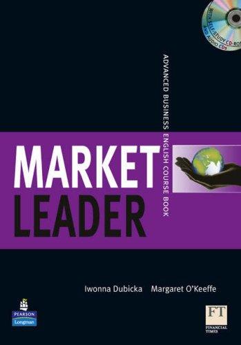 9781405881333: Market Leader Advanced Coursebook/Class CD/Multi-Rom Pack