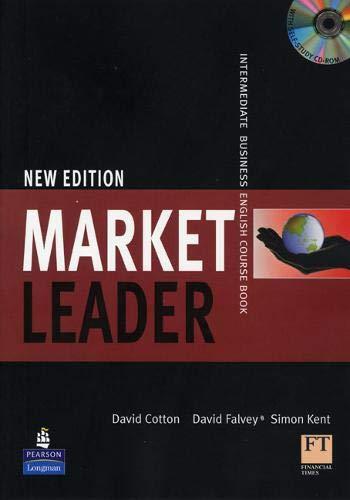 9781405881364: Market leader. Intermediate. Course book. Per gli Ist. tecnici e professionali. Con Multi-ROM