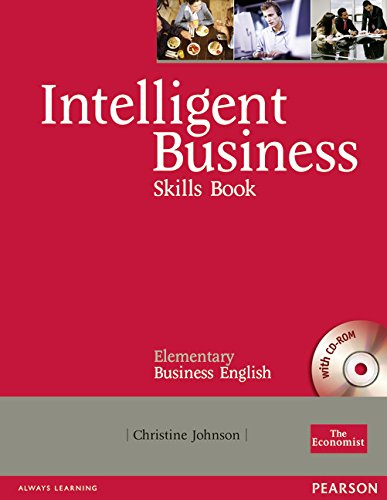 9781405881418: Intelligent Business Elementary Skills Book/CD-ROM Pack