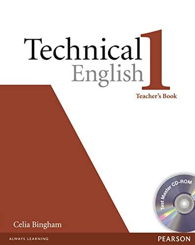 9781405881449: Technical English Level 1 Teachers Book/Test Master CD-Rom Pack