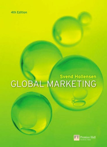 Global Marketing: A Decision-Orientated Approach/Marketing Management and Strategy (1405883383) by Svend Hollensen; Phil Stern; Peter Doyle