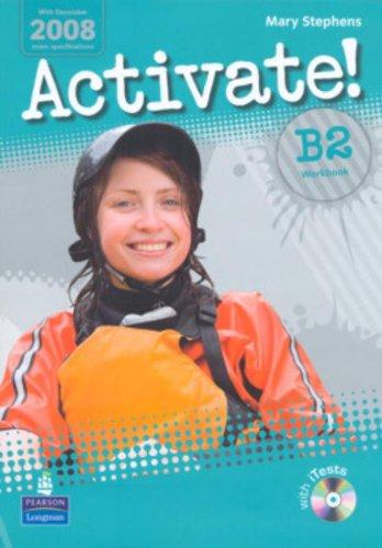 9781405884198: Activate! B2. Workbook-Itest. Per le Scuole superiori. Con Multi-ROM: Workbook Without Key
