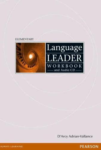 9781405884259: Language Leader: Elementary Workbook Without Key (Language Leader)