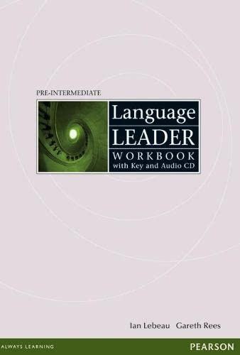 9781405884297: Language Leader Pre-Intermediate: Workbook with Key and Audio CD Pack (Language Leader)