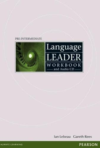 Language Leader Pre-Intermediate Workbook without Key and: Rees, Mr Gareth,