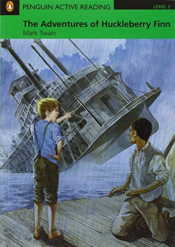 9781405884457: PLAR3:The Adventures of Huckleberry Finn Book and CD-ROM Pack.