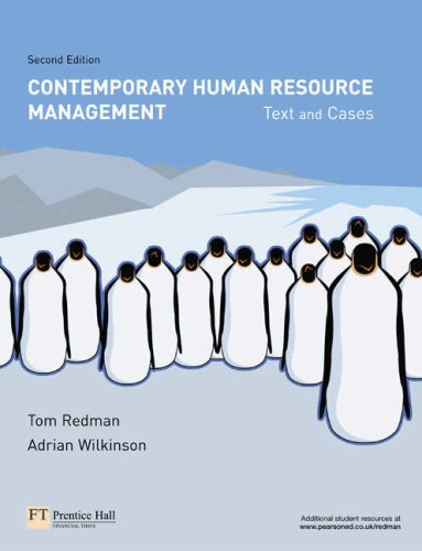 9781405886253: Organizational Behaviour: AND Contemporary Human Resource Management, Text and Cases: An Introductory Text