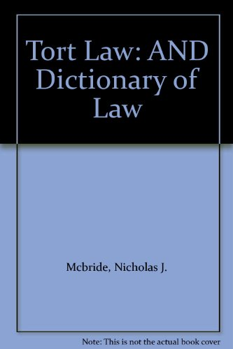 9781405886598: McBride:Tort Law/Dictionary of Law Pack