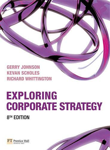 9781405887335: Exploring Corporate Strategy with Companion Website Student Access Card (8th Edition)