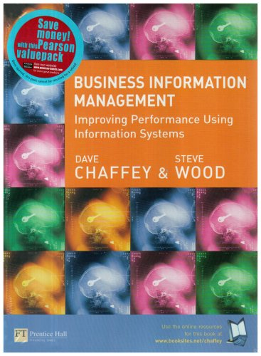 9781405887816: Business Information Management: AND TAIT PREM GO OFFICE 2.6 GO OFFICE 2003 PREM: Improving Performance Using Information Systems