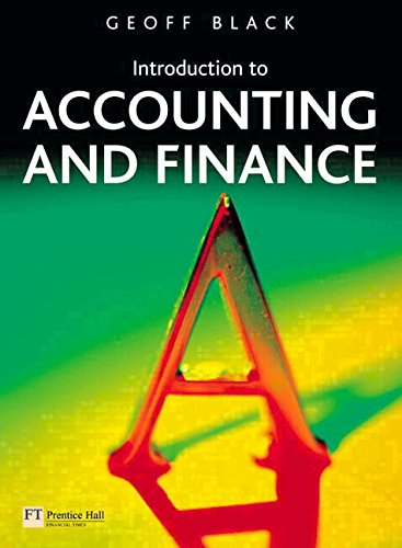 9781405887960: Introduction to Accounting and Finance: AND Accounting Dictionary
