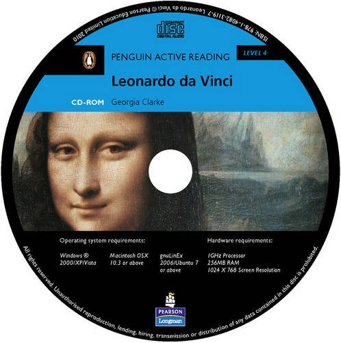 9781405891752: Level 4: Leonardo da Vinci Multi-ROM with MP3 for Pack (Pearson English Active Readers)