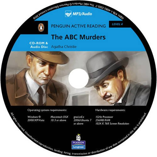 9781405891769: Level 4: The ABC Murders Multi-ROM with MP3 for Pack (Pearson English Active Readers)