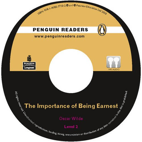 PLPR2:The Importance of Being Earnest CD for Pack (Penguin Readers (Graded Readers)) (9781405892025) by Oscar Wilde