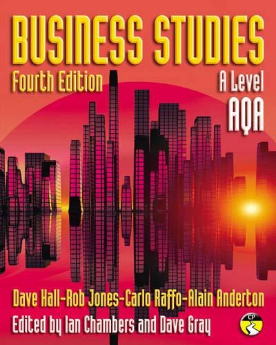 9781405892216: Business Studies for AQA