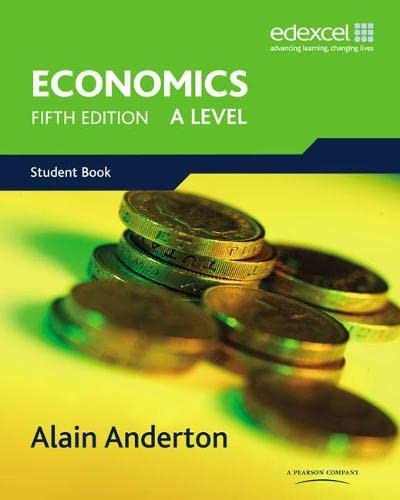 EDX A Level Economics: Anderton, Mr Alain