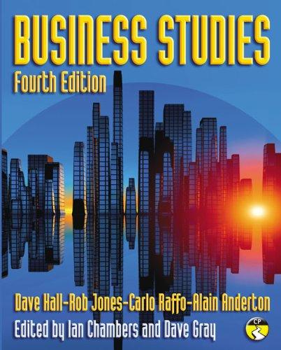 Business Studies: Hall, Dave; Jones, Rob; Raffo, Carlo; Anderton, Mr Alain; Chambers, Ian; Gray, Mr...