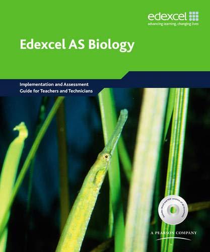 Edexcel A Level Science: AS Biology Implementation: University of York