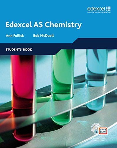 9781405896351: Edexcel A Level Science: AS Chemistry Students' Book with Ac (Edexcel A Level Sciences)