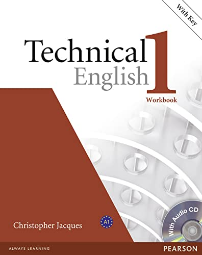 9781405896528: Technical English Level 1 Workbook with Audio CD and Answer Key