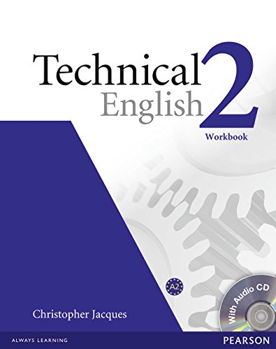 9781405896559: Technical English Level 2 Workbook without Key/CD Pack