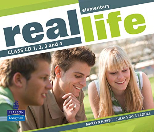 9781405897297: Real Life Global Elementary Class CD 1-4