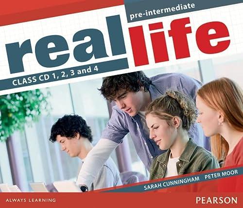 9781405897310: Real Life Global Pre-Intermediate Class CD 1-4