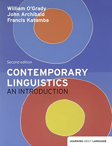 9781405899307: Contemporary Linguistics: An Introduction (Learning About Language)