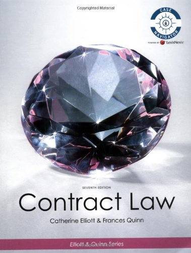 Contract Law: Catherine Elliott