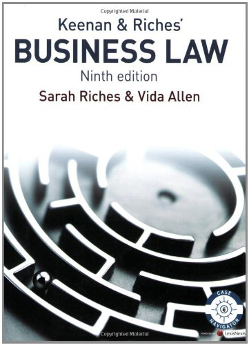 Business Law: Riches, Sarah