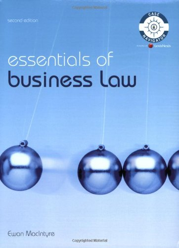 9781405899765: Essentials of Business Law