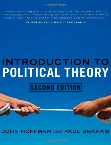 An Introduction to Political Theory (2nd Edition): John Hoffman; Paul Graham
