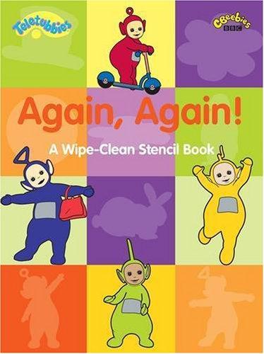 9781405900119: Again, Again Stencil Book (Teletubbies)