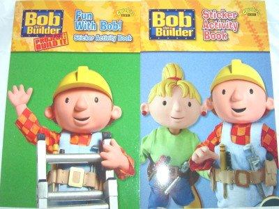 9781405903400: Bob the Builder Sticker Activity Fun - 2 Packs [Toy]
