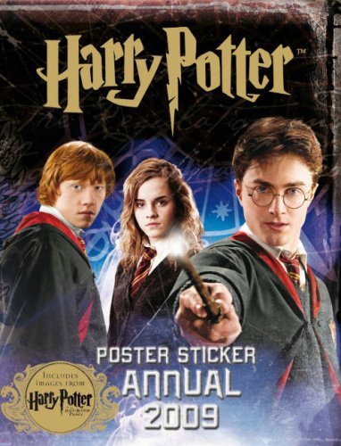 9781405904803: Harry Potter: Harry Potter and the Half-blood Prince: Poster Sticker Annual 2009