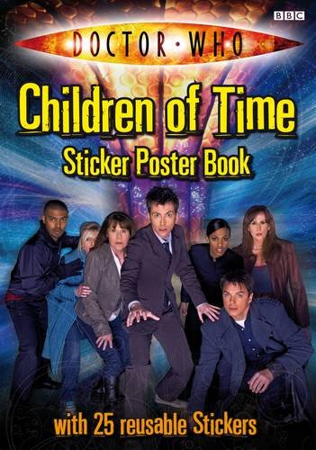 9781405904933: Doctor Who Children Of Time Sticker Poster Book