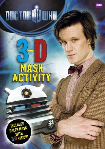 9781405906920: Doctor Who: 3-D Mask Activity Book