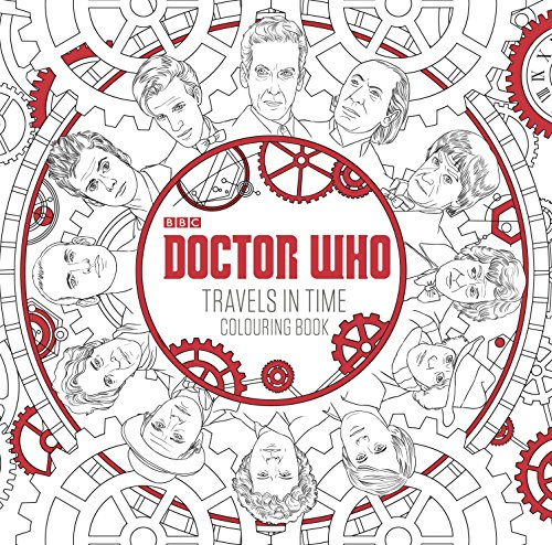 9781405927260: Doctor Who Travels In Time. Colouring Book