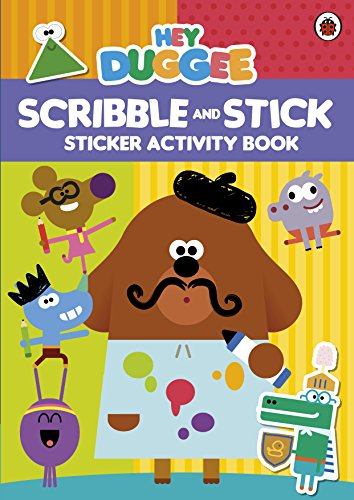 9781405928922: Hey Duggee: Scribble and Stick: Sticker Activity Book