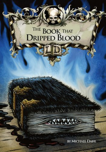 9781406212822: The Book That Dripped Blood (Library of Doom)