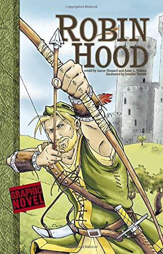 9781406213515: Robin Hood (Graphic Fiction: Graphic Revolve)
