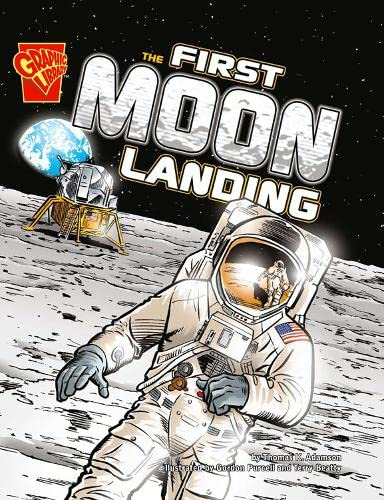 9781406214383: First Moon Landing (Graphic Library: Graphic History)