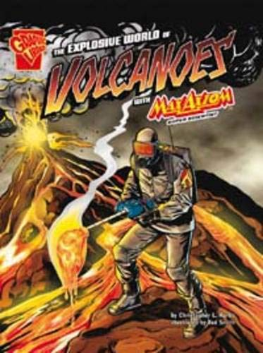 The Explosive World of Volcanoes (Graphic Science): Krohn, Katherine