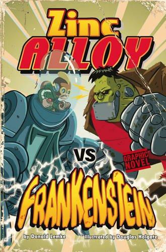 9781406216516: Zinc Alloy vs Frankenstein (Graphic Fiction: Zinc Alloy)