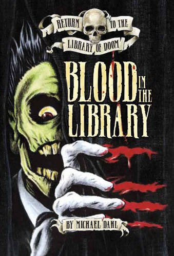 9781406236972: Blood in the Library (Return to the Library of Doom)