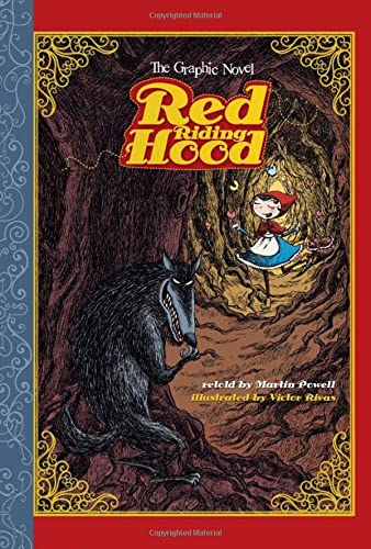 Red Riding Hood: The Graphic Novel (Graphic Spin): Martin Powell
