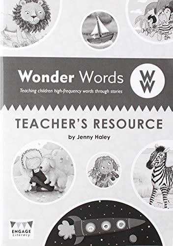 9781406248685: Wonder Words Teacher's Resource (Engage Literacy Wonder Words)