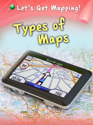 9781406249231: Types of Maps (Raintree Perspectives: Let's Get Mapping!)